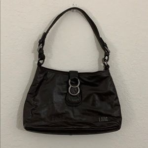 Dark brown purse